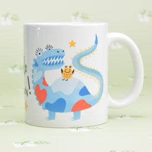 """Keramiktasse - """"Kleine Monster"""""""