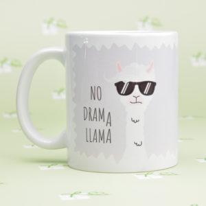 """Keramiktasse """"Lama"""" No Drama"""