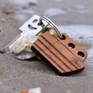 Schlüsselanhänger Boot - Ahoi
