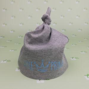 Babymütze - LittlePrince - grau