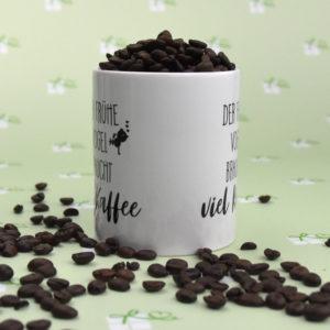 Der frühe Vogel braucht viel Kaffee