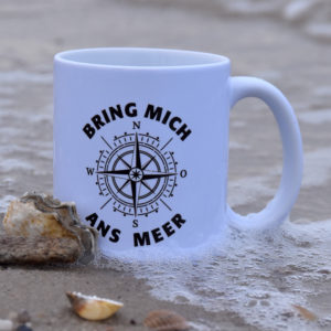 Keramiktasse Bring mich ans Meer