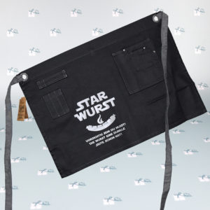 Grillschürze Latz mit Tasche - StarWurst