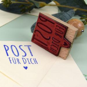 Artikelbild - Eckige Stempel - Post für Dich - 2