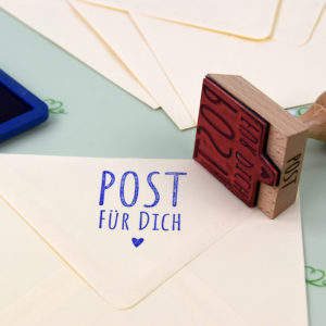 Artikelbild - Eckige Stempel - Post für Dich - 3