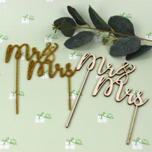 Artikelbild - Tortentopper - Ms Mrs - beide1