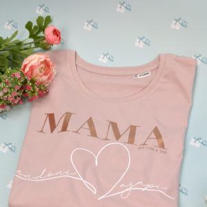 MAMA - T-Shirt - rose - twitter
