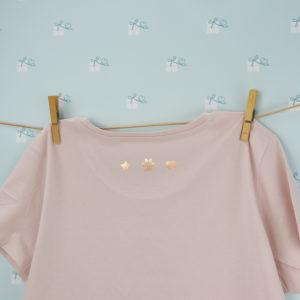 Hundemama - T-Shirt - rose Rücken