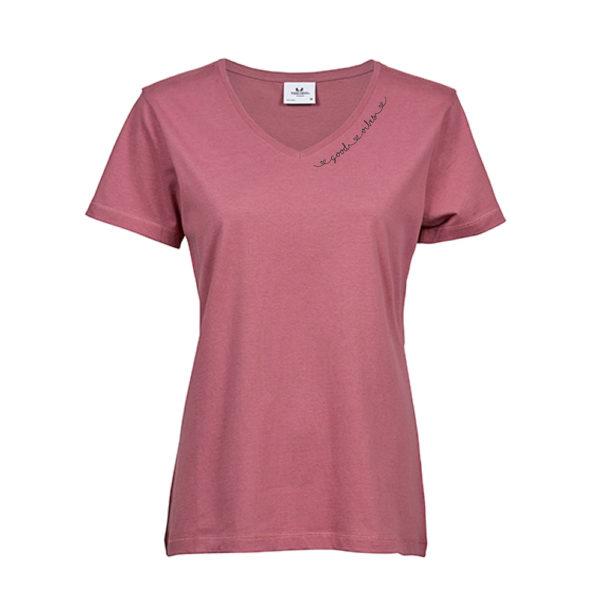 good-vibes-T-Shirt-mit-V-Ausschnitt-rose.jpg