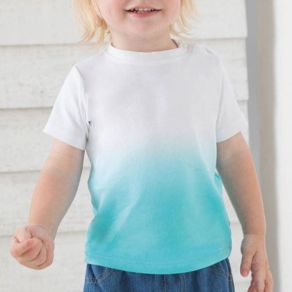 Artikelbild - Baby T-Shirt Verlauf - hellblau 1