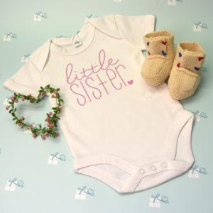 Babybody - weiß - little sister