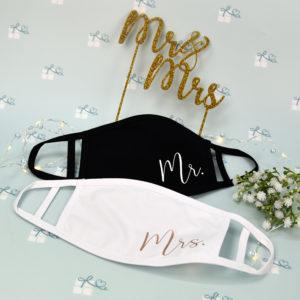 Mund-Nase-Maske - Mr Mrs
