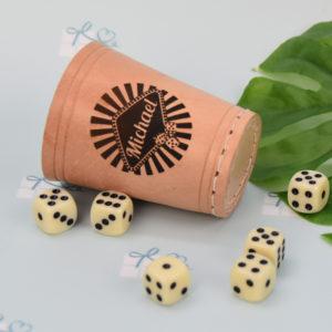Würfelbecher - Casino