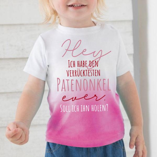 Patenonkel - rosa
