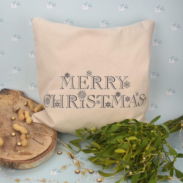 Kissenbezug - Weihnachten - Merry christmas - 1